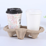 2 cups paper carry tray