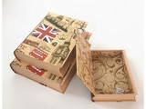 Bookcase gift box with UK Big Ben