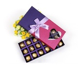 18PC chocolate box with bownot