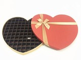 99PC  chocolate box with heart shape